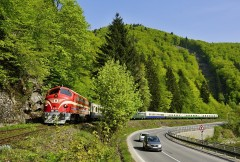 M61.017MÁV  na trati Trstená-Kraľovany|cernovec|144zobrazení|20.05.2018