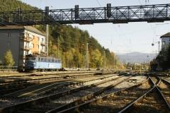 182 134-7 ČD Cargo v čele nových vozov triedy Sdqqmrss z produkcie popradskej vagonky.|cernovec|170zobrazení|14.10.2018