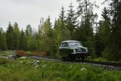 mimoriadna jazda pri príležitosti otvorenia sezóny Považskej lesnej železnice|cernovec|64zobrazení|05.06.2020