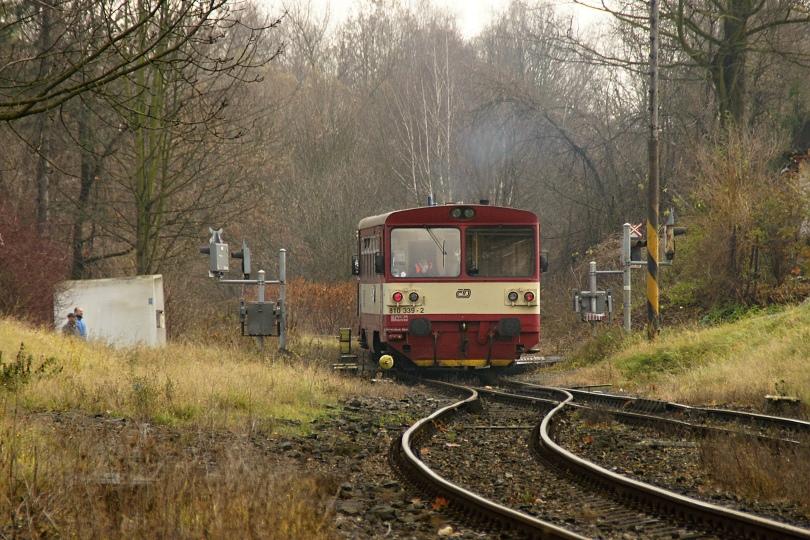 železničný prejazd v orlovej