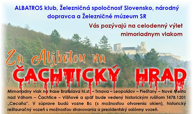 Za Alžbetou na Čachtický hrad 13.4.2019
