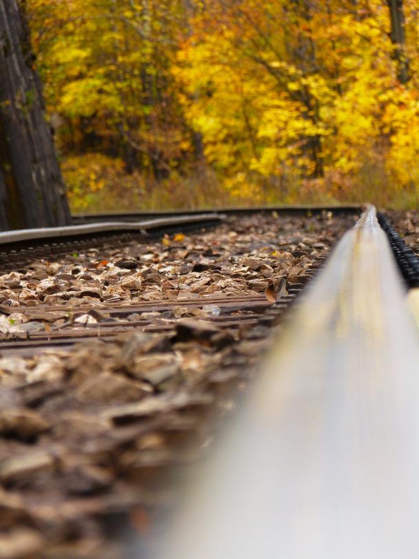Medzi vlakmi je tu času dosť, obzvlášť v sobotu ...
