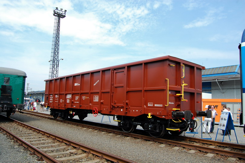 Protopyp vagóna Eanoss pre TSS Cargo a.s.