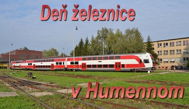 Deň železnice v Humennom