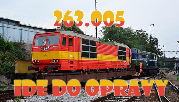 236.005 ide do opravy