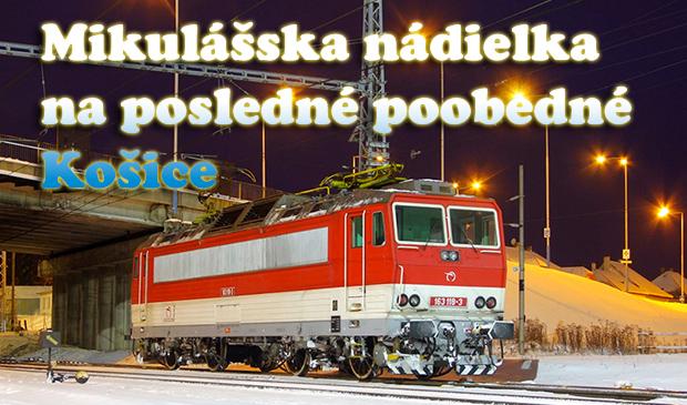Mikulášska nádielka na posledné poobedné Košice
