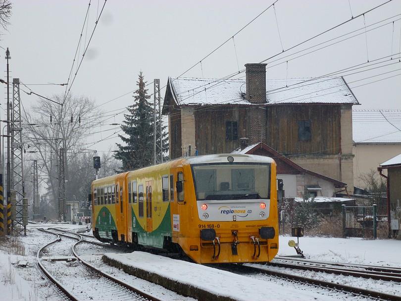 168 regionova zakúša svoju prvú zimu v Nymburku měste