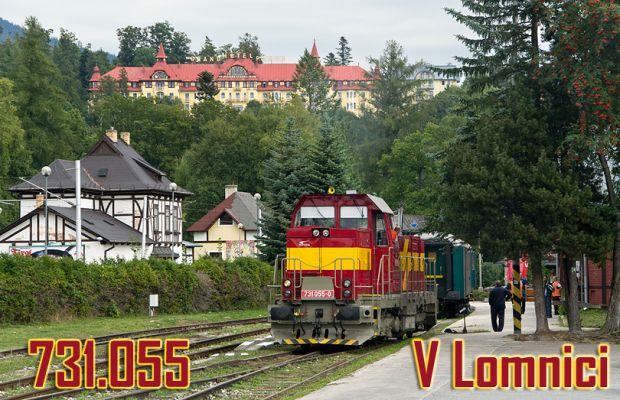 731.055 v Tatranskej Lomnici
