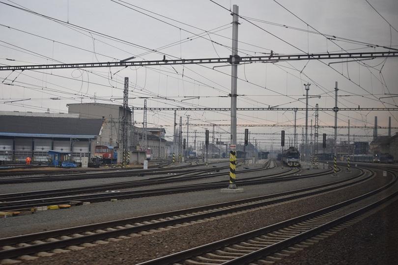 Vchádzame do stanice Přerov