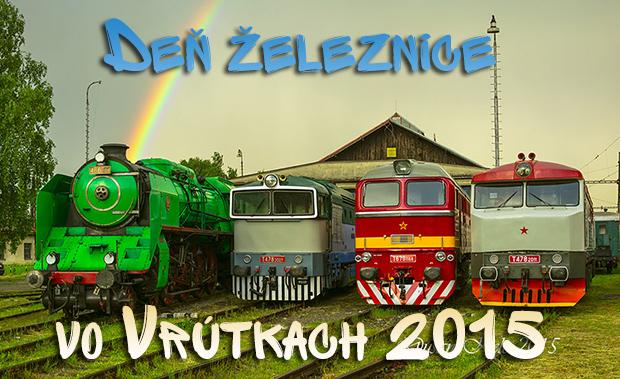 Deň železnice vo Vrútkach 2015