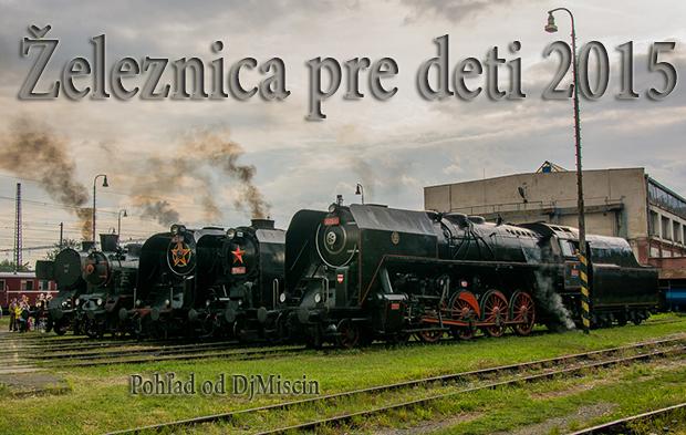 Železnica pre deti 2015