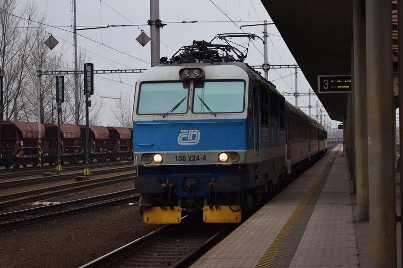 Náš posledný vlak priamo do Banskej Bystrice.