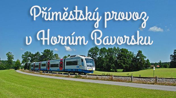 Příměstský provoz v Horním Bavorsku
