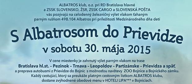 MDD jazda s Albatrosom do Prievidze