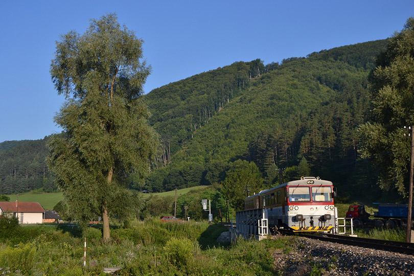 Znova sa troška vrátime ku trati Žilina-Rajec.