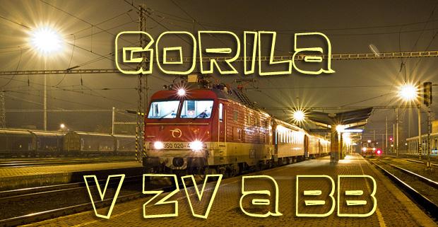 Gorila 350.020 v ZV a BB