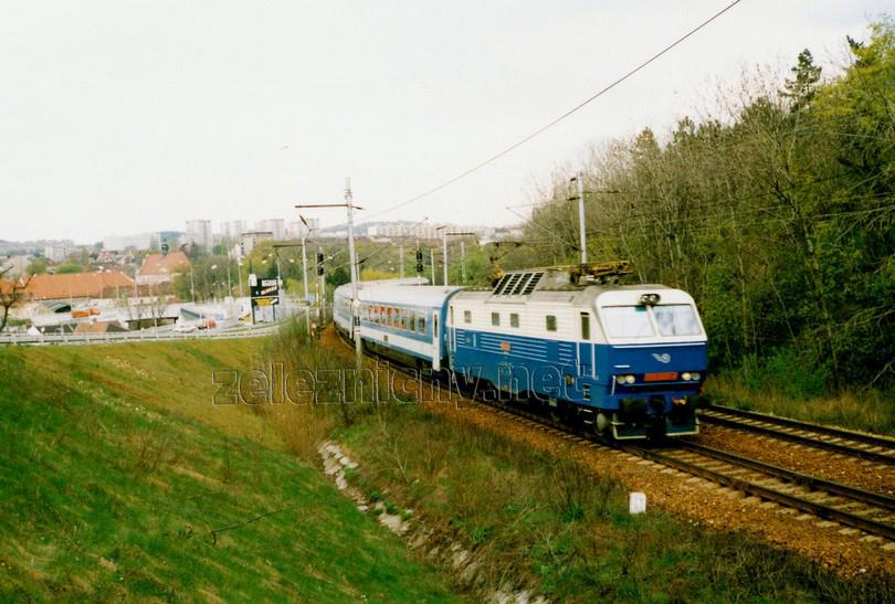 350.020-4 Brno Královo Pole 22.4.1998 IC 171