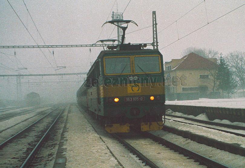takúto podobu mával osobný vlak z Bánoviec nad Ondavou do Veľkých Kapušian (2003)