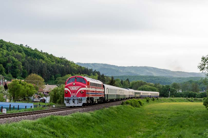Vlak som si počkal doma vo Vígľaši.(foto:DjMiscin)