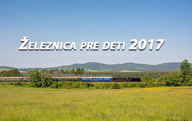Železnica pre deti 2017