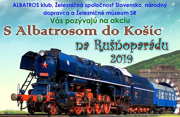 S Albatrosom do Košíc na Rušňoparádu 2019