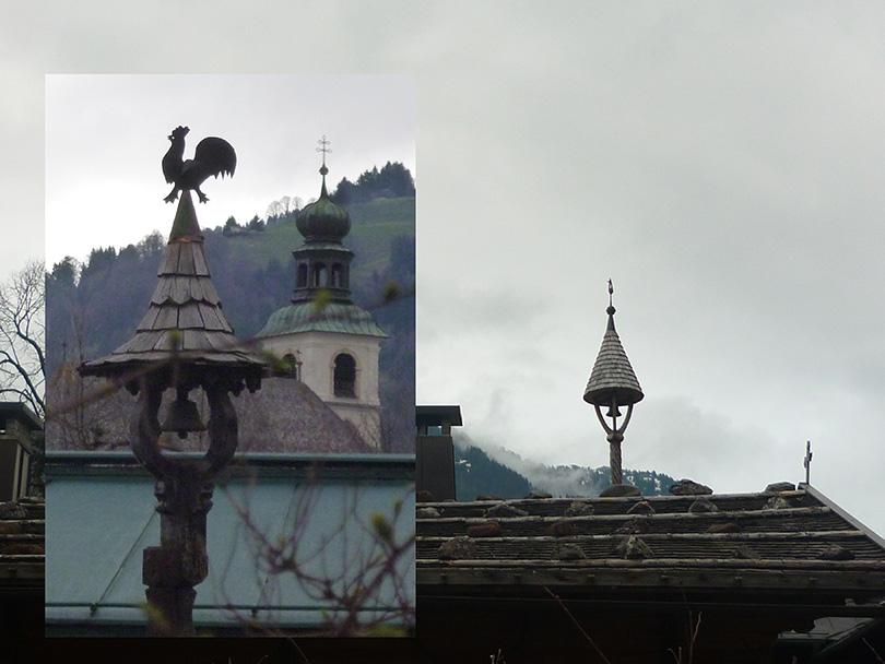 Zvonice na strechách