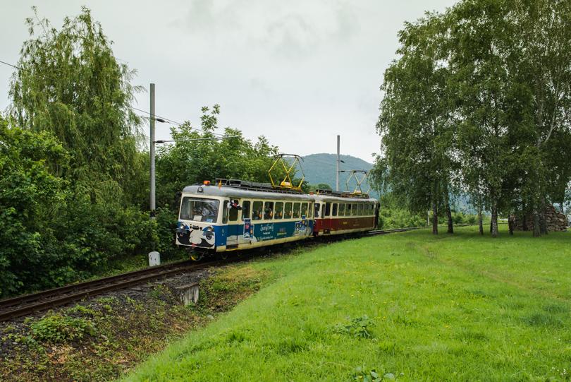Práve sa vchádza do Trenčianskych Teplíc: foto: © krz