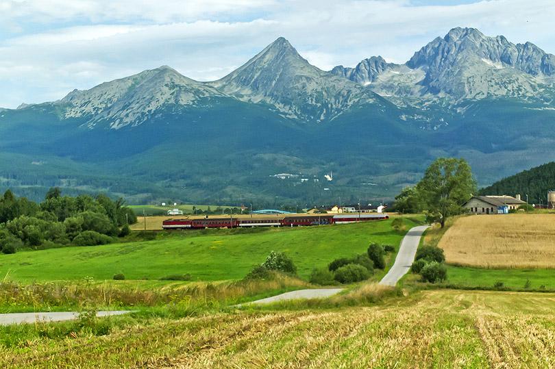 O kúsok ďalej aj z Tatrami.(Foto:DjMiscin)