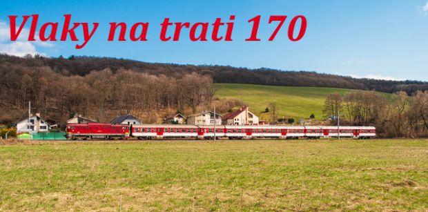 Vlaky na trati 170