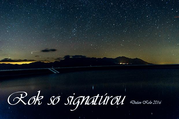 Rok so signatúrou 2016