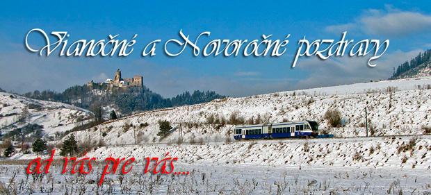 Vianočné a Novoročné pozdravy - od vás pre vás