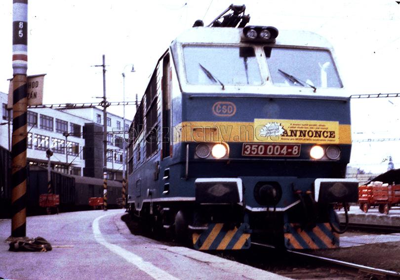 Brno 14.5.1991 – Ex173 Slovenská strela. Foto: Tomáš Palyza.