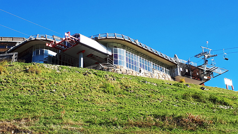 Alpenhaus -horná stanica lanovky