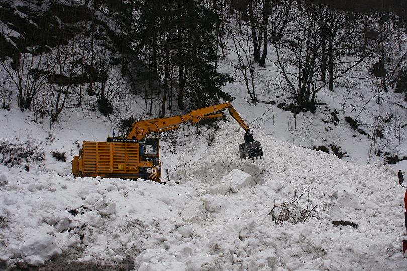 odpratávanie snehu