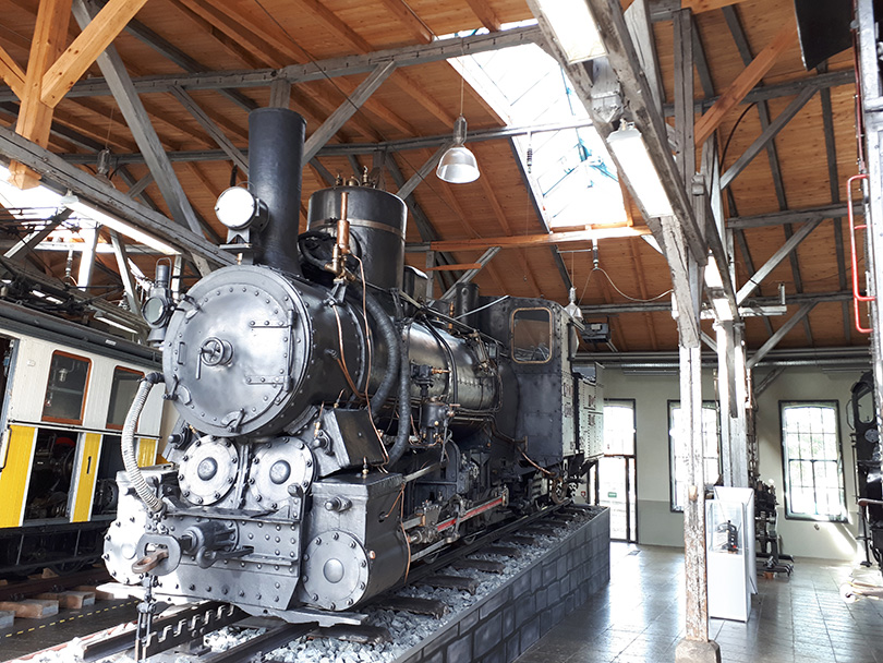 Ozubnicový rušeň systému Abt III C 719 alias 97-010 JŽ – bývalých juhoslávskych železníc