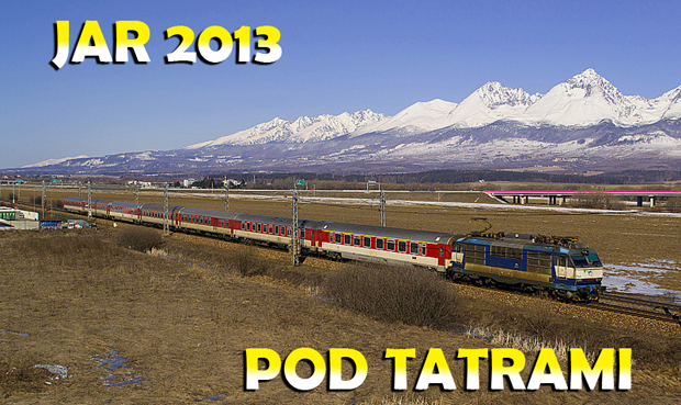 Jar 2013 pod Tatrami.