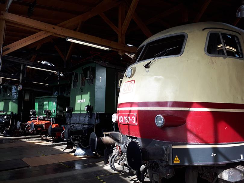 Kolekcia elektrických lokomotív