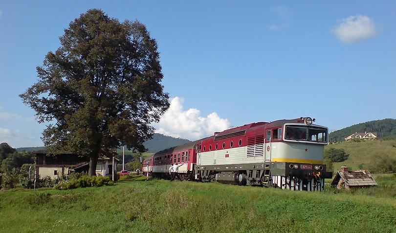 Na čele mimoriadneho vlaku do Šiah 12.9.2010