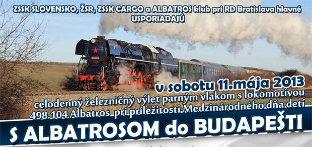 S ALBATROSOM DO BUDAPEŠTI dňa 11.5.2013