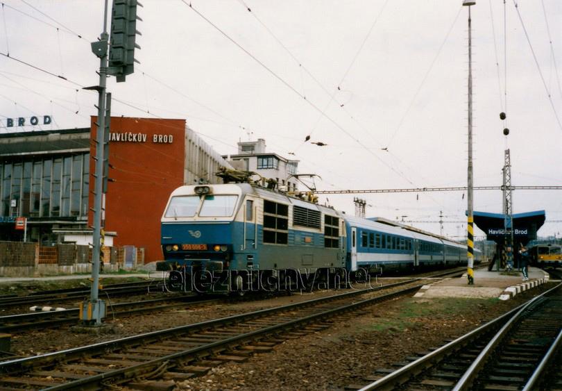 350.006-3 Havlíčkův Brod 7.4.2000 EC 170