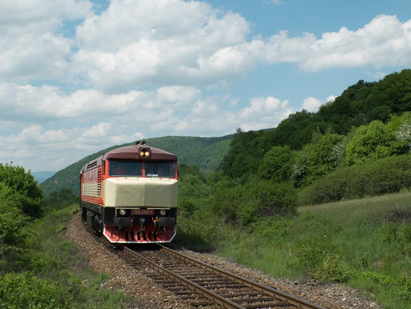 Na tom istom mieste ako para aj požiarny vlak.(Foto:AladaR)
