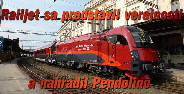 Railjet sa predstavil verejnosti a nahradil Pendolino – časť prvá: z Brna do Třebovej