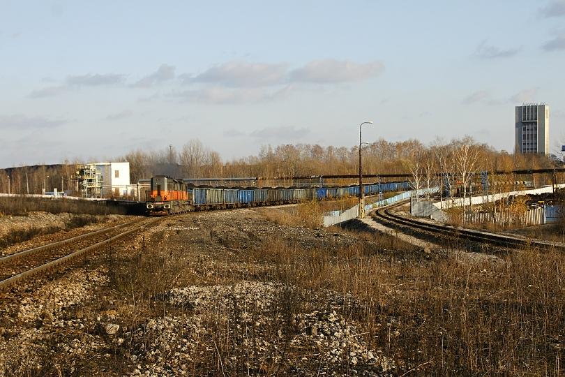 740 447-7+740745-5 s uhoľným vlakom do Ostravy