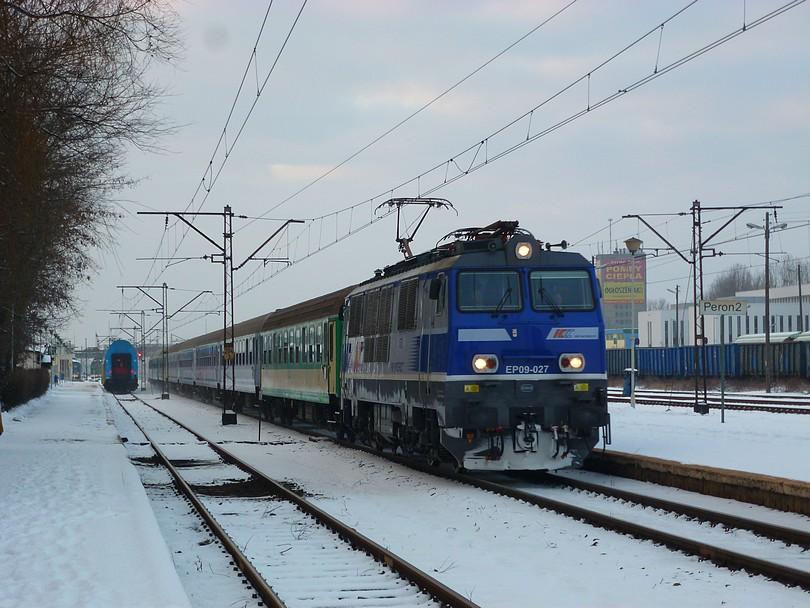expres Gałczyński zastavil v zimnom Konine
