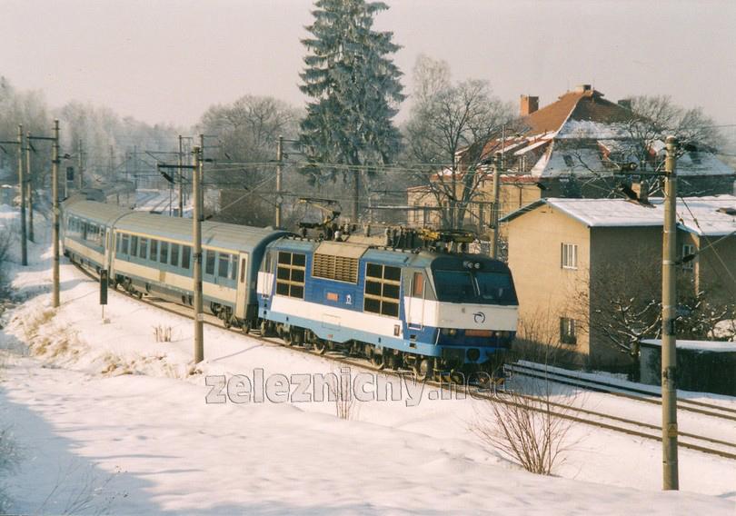 350.008-9 Havlíčkův Brod 5.2.2005 EC 171