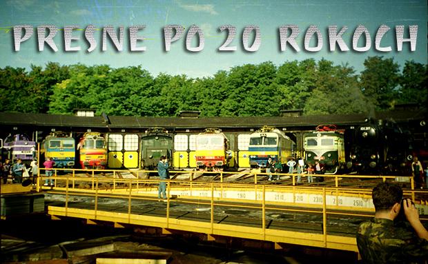 Presne po 20 rokoch: Železničná výstava ku 145. výročiu železníc na Slovensku