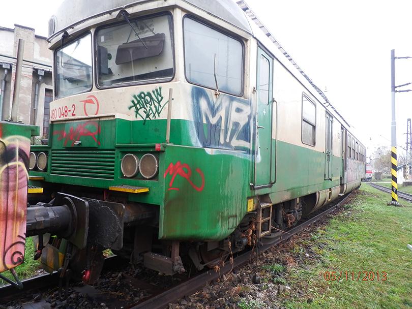 Tak isto zrušená 460.048 v RD Košice. 5.11.2013 (Milan)