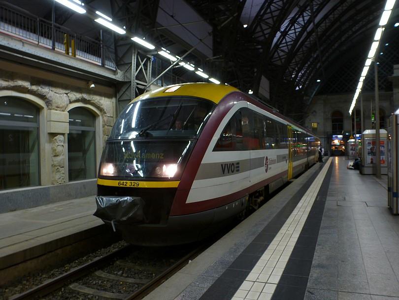 pohľad na tento vlak z opačnej strany