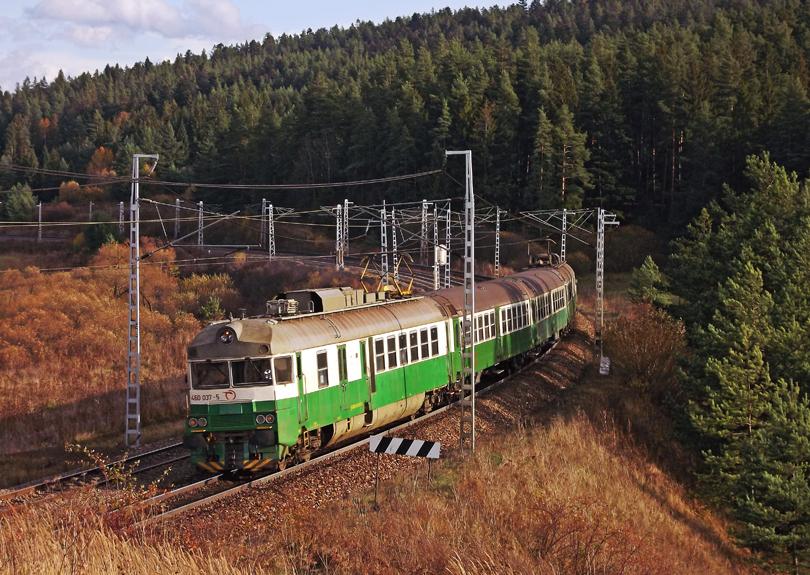 460.037+038. Z dôvodu výluky v úseku Vydrník–Poprad po nesprávnej koľaji. 21.10.2013 (Dano)