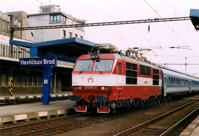 350.001-4 Havlíčkův Brod 25.3.2005 EC 170